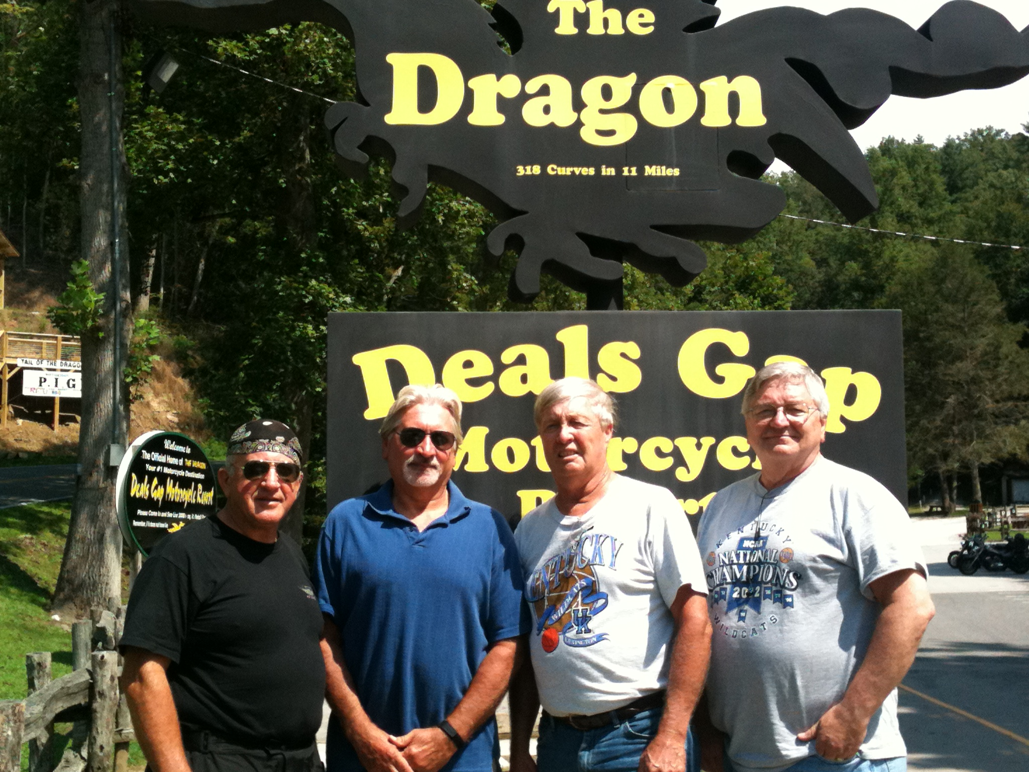 Dragon's Tail with David,Me, Jim, Mike