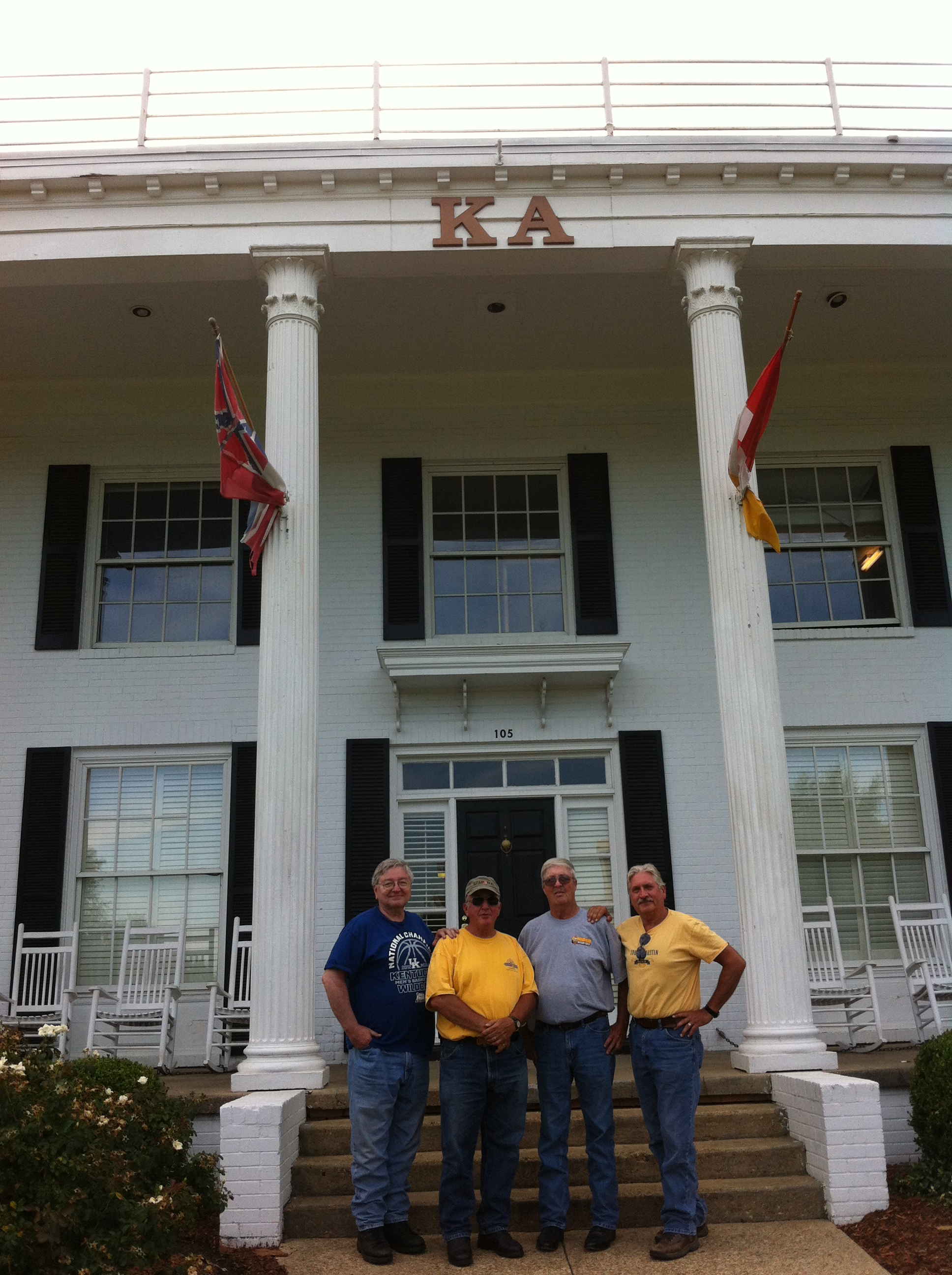 KA House at Ole Miss